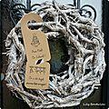 etiquette porte noel christmas door tag lilybouticlou