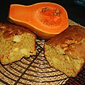 Cake aux pommes et courge sucrine
