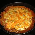 Tarte brick au bacon/3 fromages