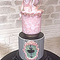 Cake ballerina (modèle kek couture by cake concept)