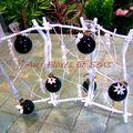 Structure Tortuosa blanc et Fioles