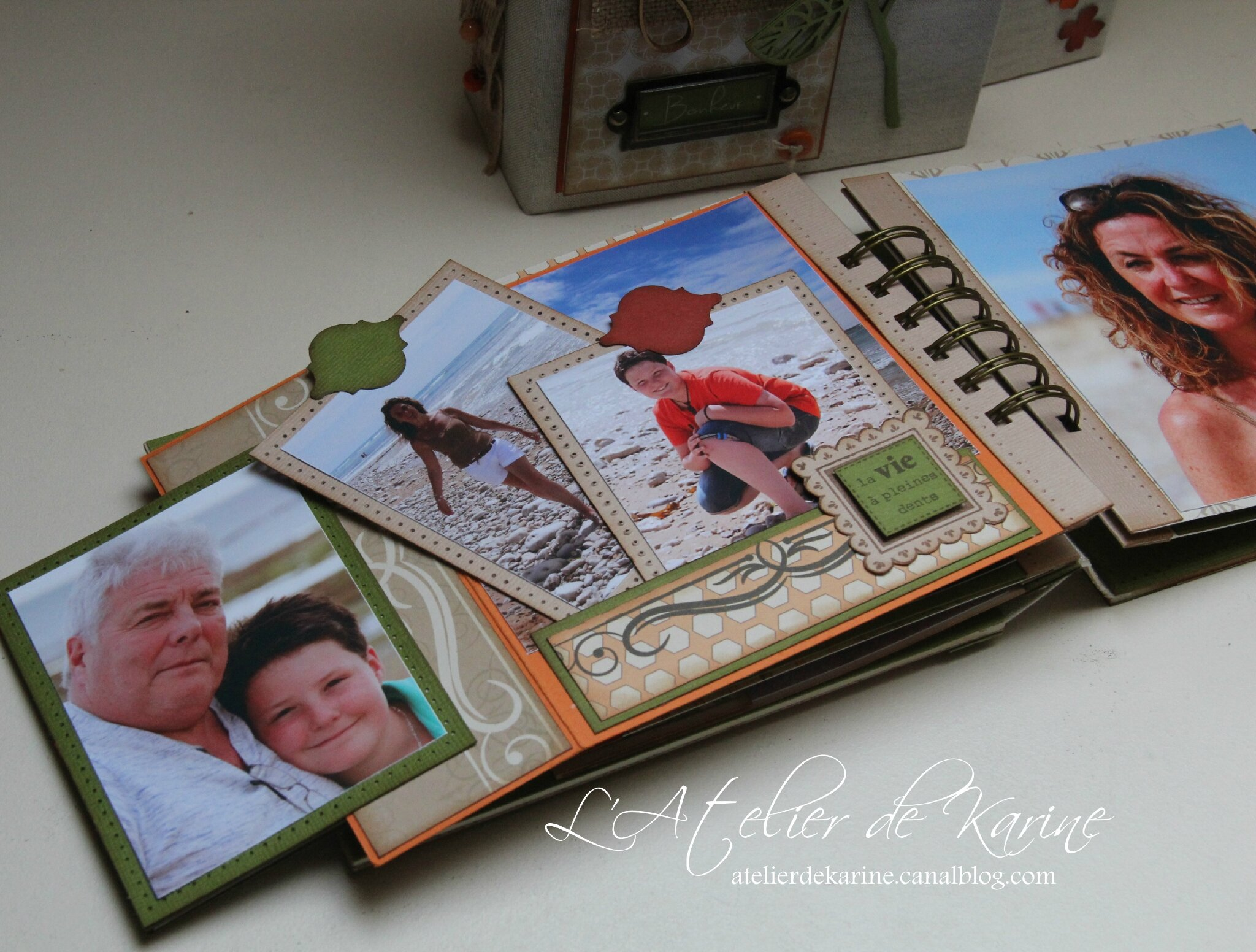 Mini Album et son coffret - Pure Lorelaïl Design 37