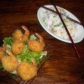 Beignet de crevettes croustillant ( comme au resto)