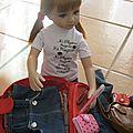Louane prépare sa valise !!!!