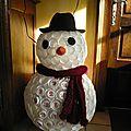 calendrier de l'avent 2014 ... bonhomme de neige