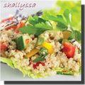 Salade de quinoa aux légumes sans gluten