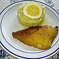 Purée de pommes de terre au citron