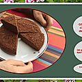 <b>Gâteau</b> au chocolat de mamie