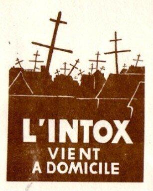 L'Intox... ( Affiche des étudiats des Beaux Arts )