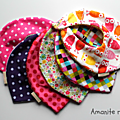 Bavoirs-foulards Fille