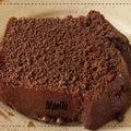Gateau au chocolat en poudre
