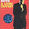 À livre ouvert (any human heart), roman de william boyd,