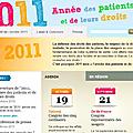 2011 Année des patients et de leurs <b>droits</b> (label)