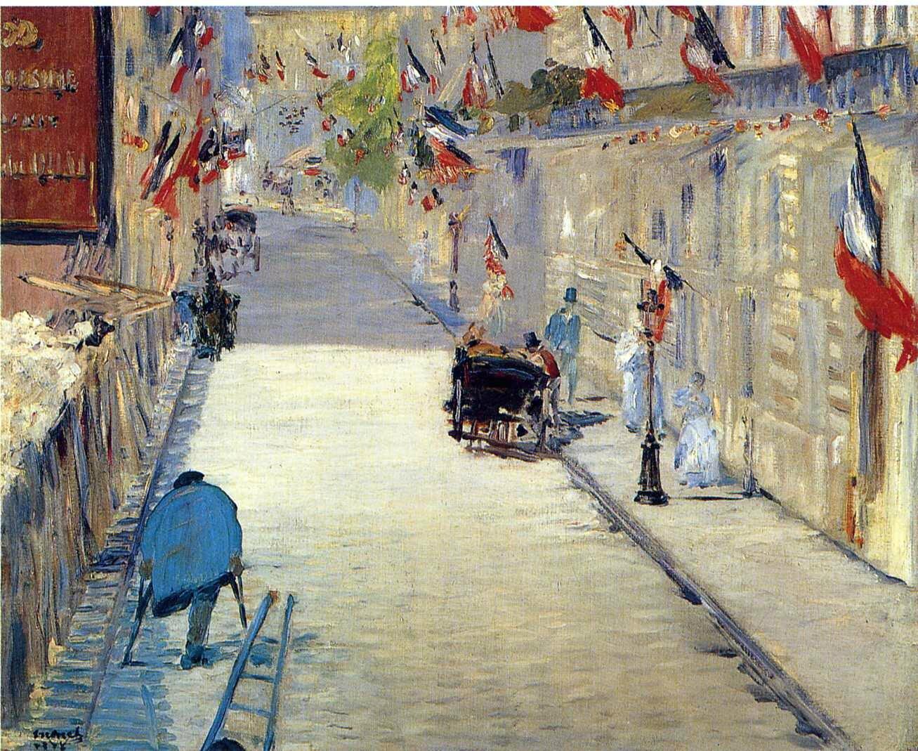 Manet, Rue Mosnier