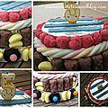 Gâteau de bonbon