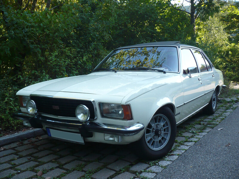 OPEL Commodore B 2500 GS automatic 1973 Schramberg (1)