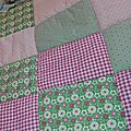 Petite couverture patchwork