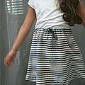 Vêtement de la semaine 10 :deuxième jupe isa (la maison victor)