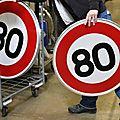 Besançon : manifestation contre la limitation de vitesse à 80 km/h