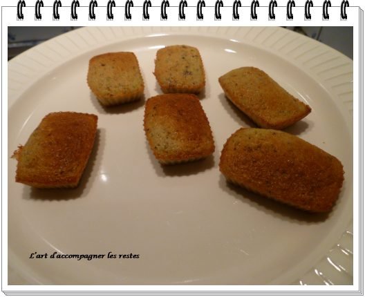 Financiers pistaches ww1