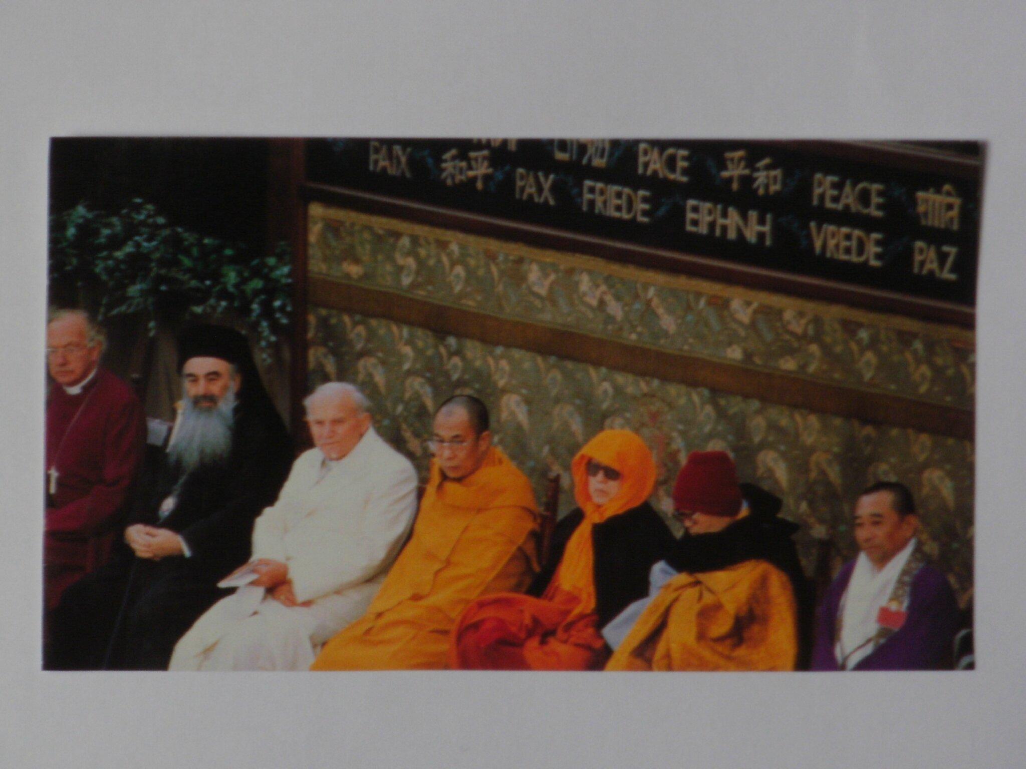 Rencontre d'Assise en 1986