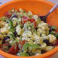 Salade de pomme-de-terre aux saveurs d'italie