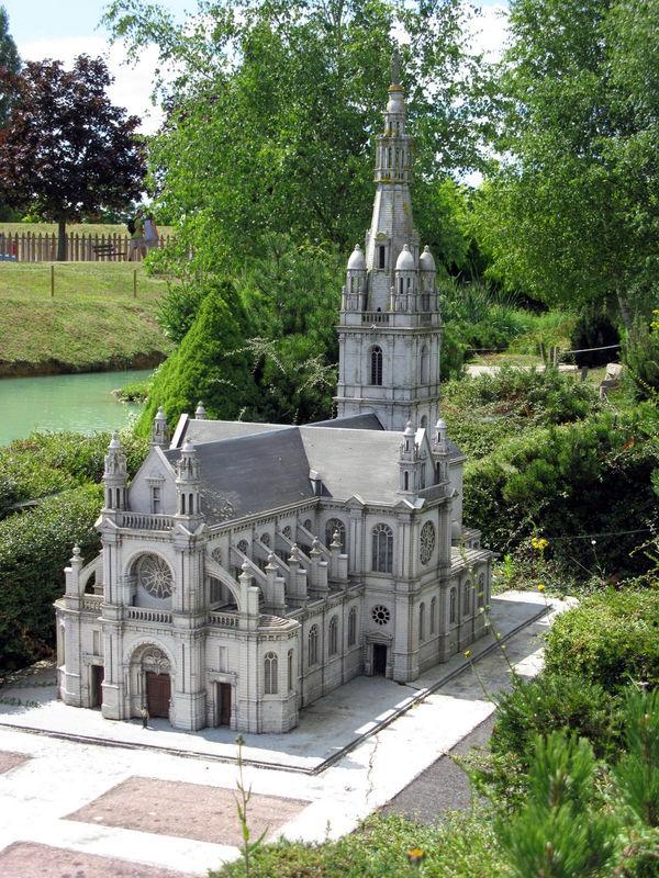 Sainte Anne d'Auray, maquette de la Basilique Sainte Anne