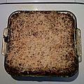 Lasagne bolo de Fred