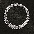 Magnificent diamond necklace by harry winston, 1962