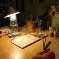 En session aquarelle