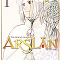 The heroic legend of arslân vol.1
