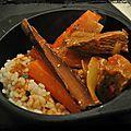 Curry de boeuf à l'<b>indienne</b>