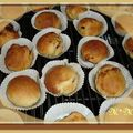 Muffins aux fruits secs