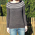 Branches and Buds pullover