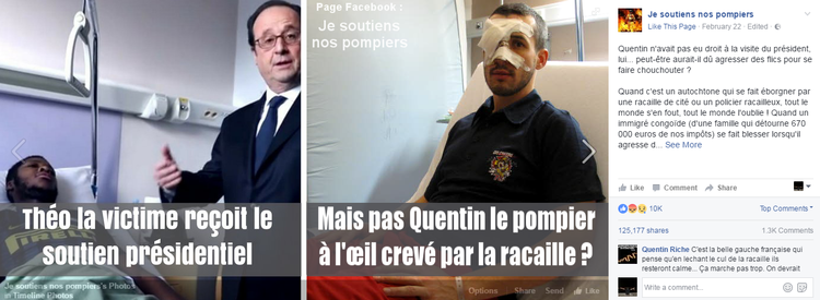 Affaire Théo : pour des poursuites contre le traître Hollande