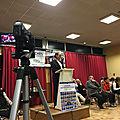 municipales 2020 à <b>Avranches</b> - réunion publique de Guénhaël Huet - mardi 10 mars 2020 - vidéo et tweets
