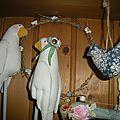 Les oiseaux ...et le lapin caché