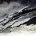 Sédition sur la côte sauvage 1, mars 2017, encre sur papier, 59 x 42 cm