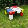 La <b>Table</b> <b>Basse</b> Mondrian