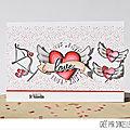 Avant première 4enScrap - J1 Collection Saint Valentin