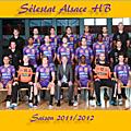 L'équipe du sahb 2011/2012 et ses joueurs