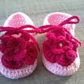 Des chaussons tres girly !!!
