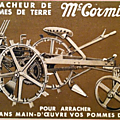 <b>Arracheuse</b> de patates Mc Cormick