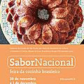 Museu da Casa Brasileira : 13ª edição da <b>Feira</b> <b>Sabor</b> <b>Nacional</b>, receitas repletas de amor