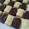 Cuisine: duo de petits chocolats (vgl)