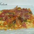 Pizza aux girolles
