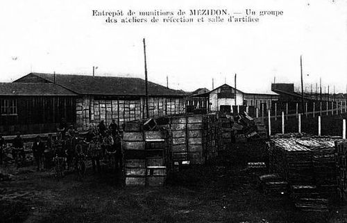 Mézidon - Entrepot de munitions