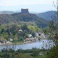 château de Murol et lac Chambon