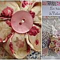 Les trésors de valentine : gamme bijoux textiles