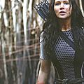 Jennifer Lawrence as Katniss Catching Fire